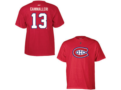 Montreal Canadiens Michael Cammalleri NHL CN Youth Player T-Shirt