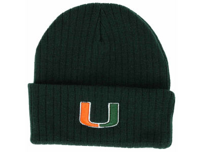 Miami Hurricanes Top of the World NCAA Campus Cuff Knit