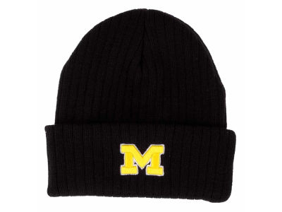 Michigan Wolverines Top of the World NCAA Campus Cuff Knit