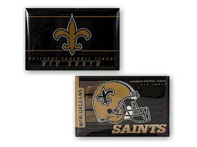 New Orleans Saints Magnet 2-pack