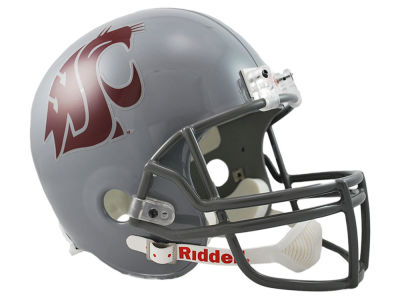 Washington State Cougars NCAA Deluxe Replica Helmet