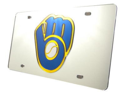 Milwaukee Brewers Acrylic Laser Tag
