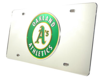 Oakland Athletics Acrylic Laser Tag