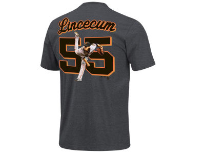 San Francisco Giants Tim Lincecum Majestic MLB Youth Player T-Shirt