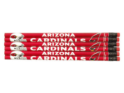 Arizona Cardinals 6-pack Pencils