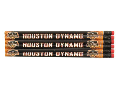Houston Dynamo 6-pack Pencils