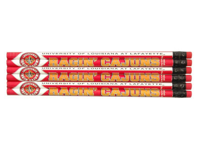 Louisiana Ragin' Cajuns 6-pack Pencils