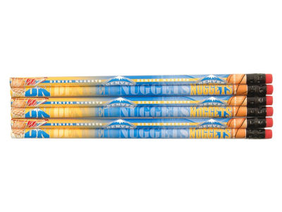 Denver Nuggets 6-pack Pencils