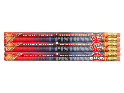 Detroit Pistons 6-pack Pencils