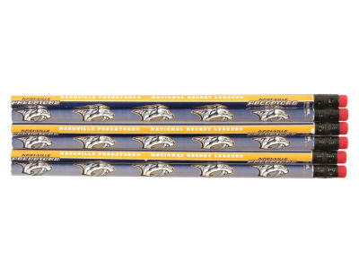 Nashville Predators 6-pack Pencils