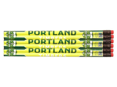 Portland Timbers 6-pack Pencils