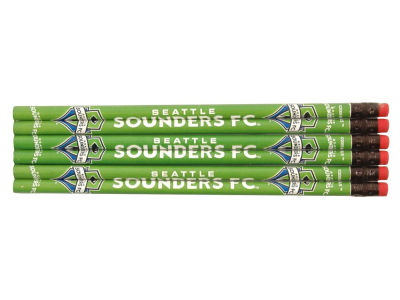 Seattle Sounders FC 6-pack Pencils