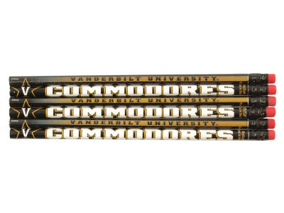 Vanderbilt Commodores 6-pack Pencils