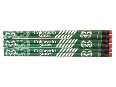 Colorado State Rams 6-pack Pencils