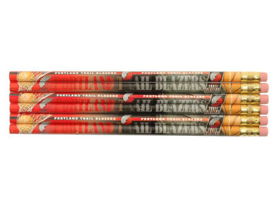 Portland Trail Blazers 6-pack Pencils