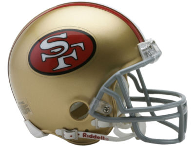 San Francisco 49ers NFL Mini Helmet