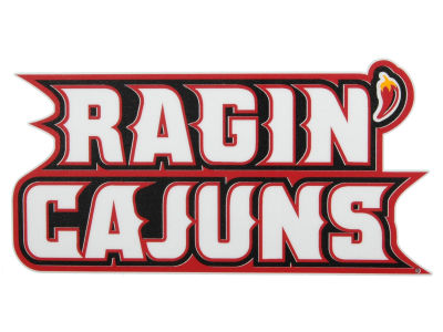 Louisiana Ragin' Cajuns Vinyl Decal