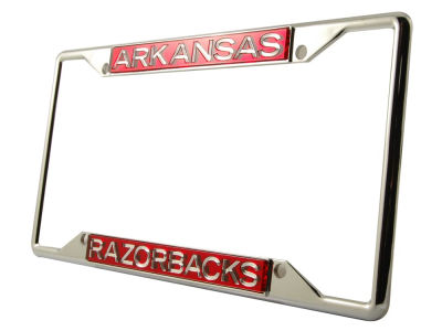 Arkansas Razorbacks Laser Frame