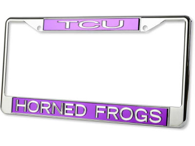Texas Christian Horned Frogs Laser Frame