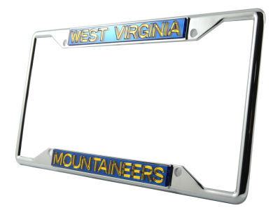 West Virginia Mountaineers Laser Frame