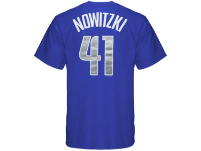 Dallas Mavericks Dirk Nowitzki NBA Youth Name And Number T-Shirt