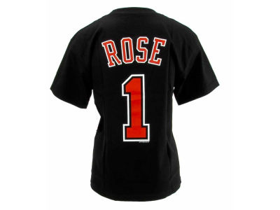 Chicago Bulls Derrick Rose NBA Youth Name And Number T-Shirt