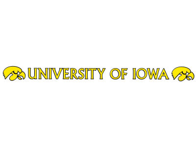 Iowa Hawkeyes Long Decal