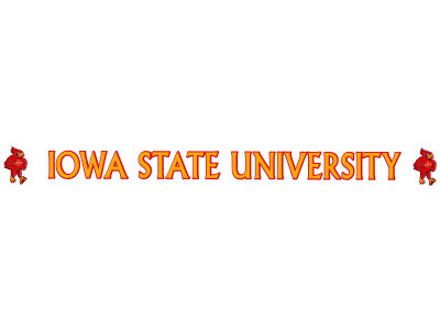 Iowa State Cyclones Long Decal