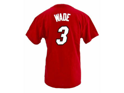 Miami Heat Dwyane Wade NBA Youth Name And Number T-Shirt