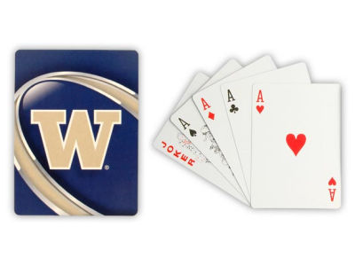 Washington Huskies Playing Cards