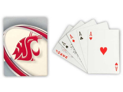 Washington State Cougars Playing Cards