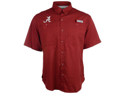 Alabama Crimson Tide Columbia NCAA Tamiami Shirt