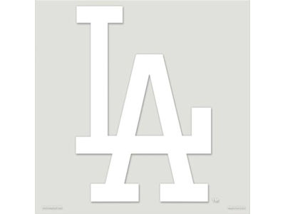 "Los Angeles Dodgers Die Cut Decal 8""x8"""