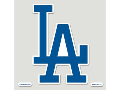 Los Angeles Dodgers Die Cut Color Decal 8in X 8in