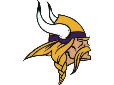 Minnesota Vikings Static Cling Decal