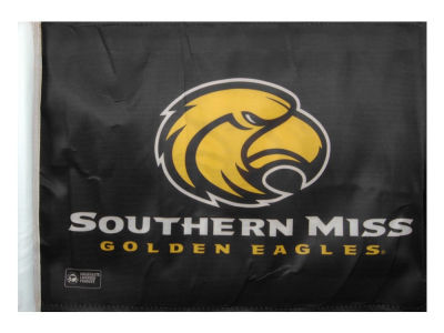 Southern Mississippi Golden Eagles Car Flag