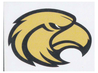 Southern Mississippi Golden Eagles Game Face Tattoo