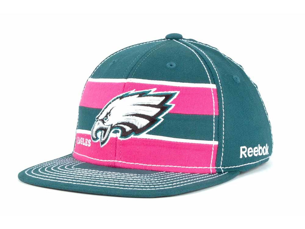 Philadelphia Eagles Reebok NFL Breast Cancer Awareness Sideline Cap ... 3a40c2034