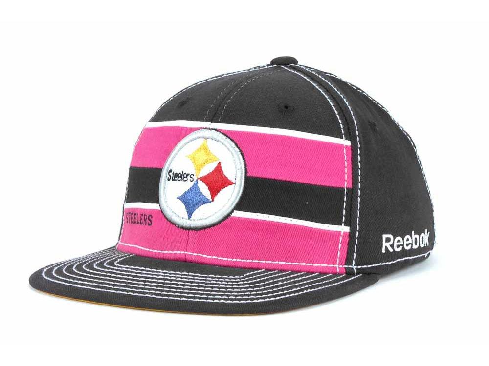 Pittsburgh Steelers Reebok NFL Breast Cancer Awareness Sideline Cap ... 404d44ffe