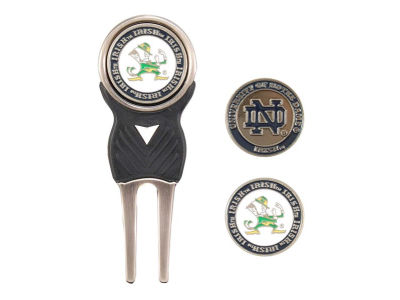 Notre Dame Fighting Irish Divot Tool and Markers