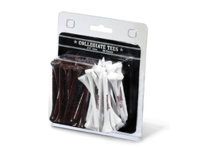 Mississippi State Bulldogs 50pk Golf Tees