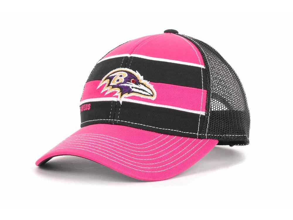 brand new 8fe48 979b9 sale baltimore ravens breast cancer hat b8164 3055c