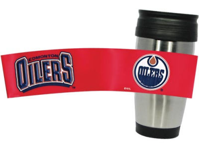 Edmonton Oilers Stainless Steel Travel Tumbler