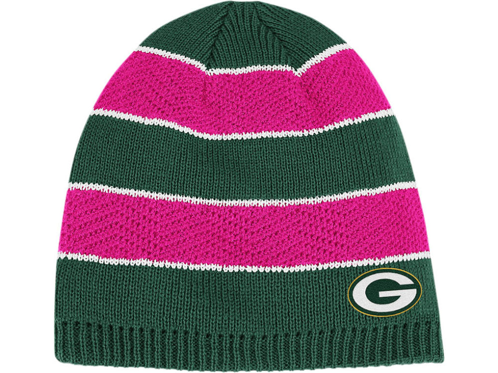 ... coupon for green bay packers reebok nfl breast cancer awareness womens  knit f63b6 e2ee3 6f2be48e6