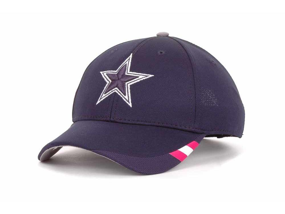 Dallas Cowboys Reebok NFL Breast Cancer Awareness Coaches Adjustable Cap  e680ab9aa