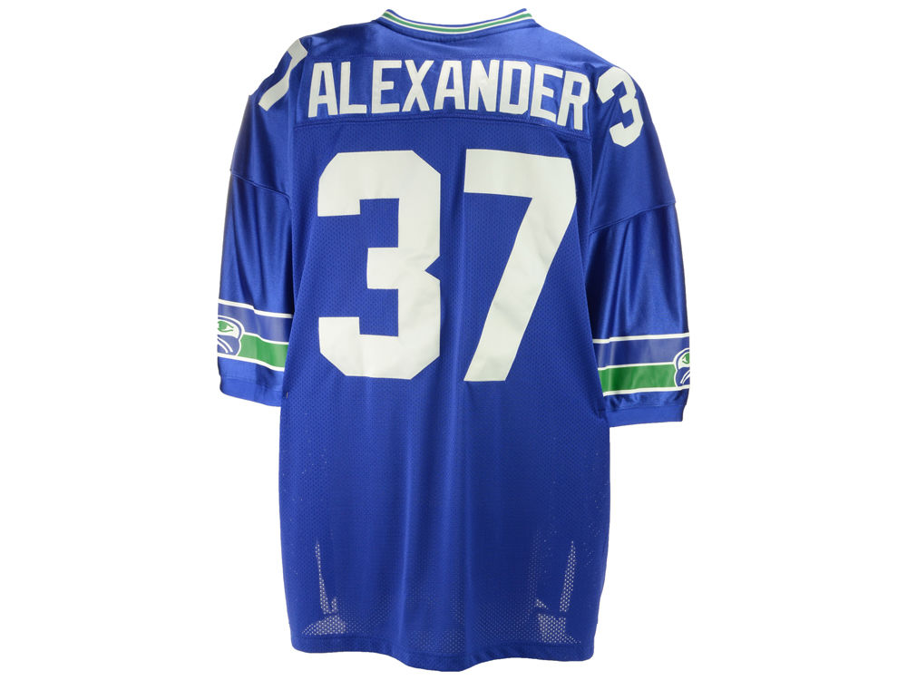 91ee6e033 Seattle Seahawks Shaun Alexander Reebok NFL Authentic Throwback Jersey
