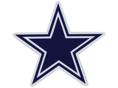 Dallas Cowboys Die Cut Color Decal 8in X 8in