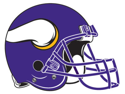 Minnesota Vikings 8in Car Magnet
