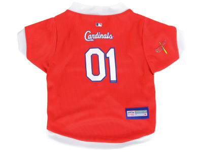 St. Louis Cardinals Medium Pet Jersey