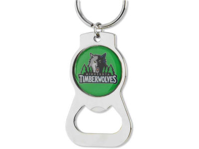 Minnesota Timberwolves Aminco Bottle Opener Keychain